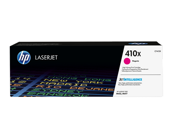 HP 410X High Yield Magenta Original LaserJet Toner Cartridge (CF413X)
