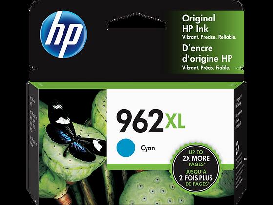 HP 962XL High Yield Cyan Original Ink Cartridge (3JA00AN)