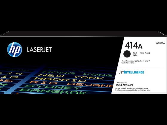 HP 414A Black Original LaserJet Toner Cartridge (W2020A)