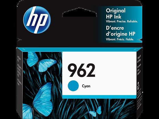 HP 962 Cyan Original Ink Cartridge (3HZ96AN)
