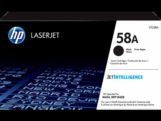 HP 58A Black Original LaserJet Toner Cartridge (CF258A)