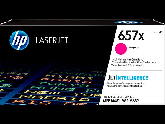 HP 657X High Yield Magenta Original LaserJet Toner Cartridge (CF473X)