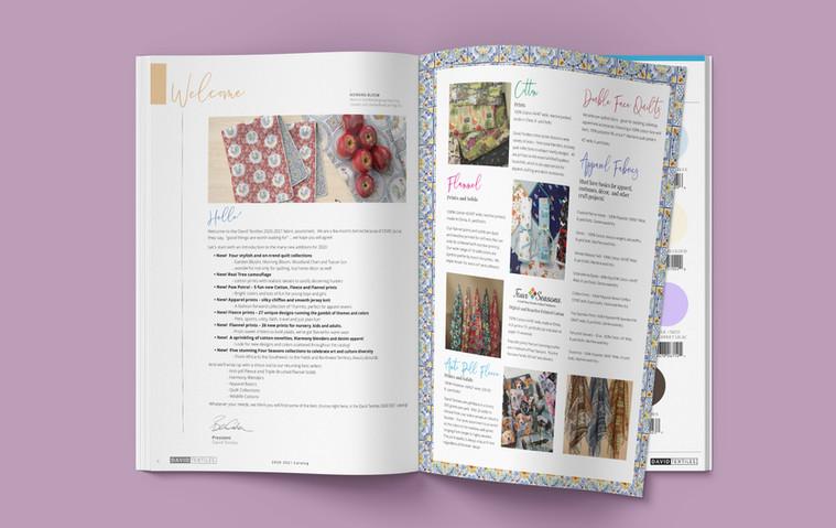 David Textiles 2020 Catalog