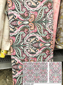 For David Textiles, sold at Walmart