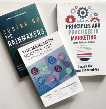 Published Marketing Books: Principles and Practices in Marketing, The Mansmith Mentors' List