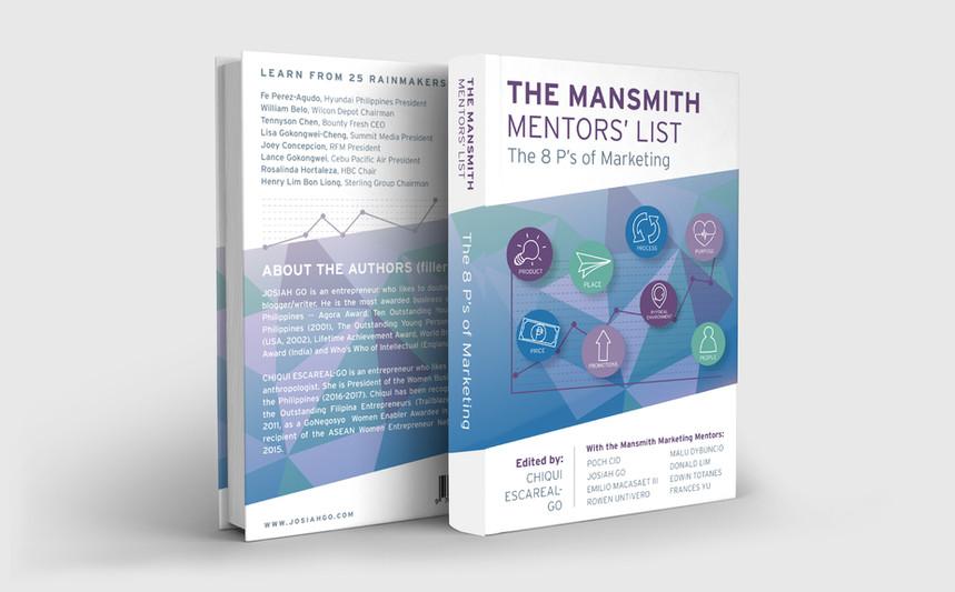 Marketing Book - The Mansmith Mentors' List