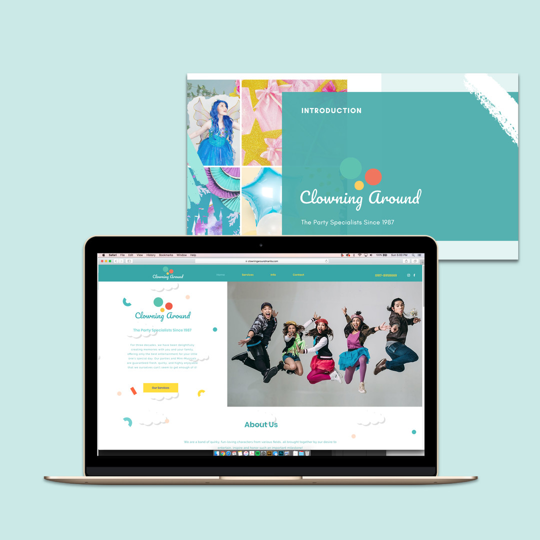 Website and Digital Materials