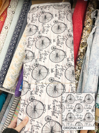 For David Textiles, sold at Walmart