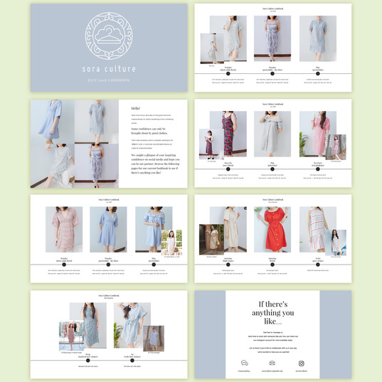 Digital Deck for Clothing Brand