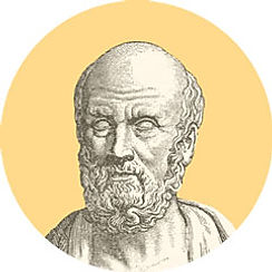 Hippocrates about spruce resin ointment