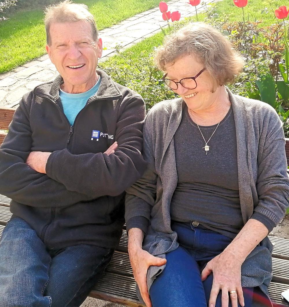 Ivo Konc s svojo ženo Viktorijo