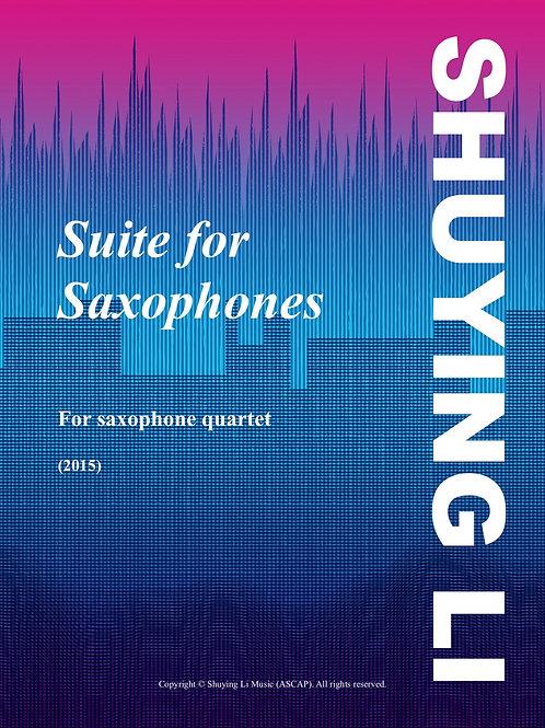 Suite for Saxophones