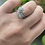 Thumbnail: 18k diamond bypass ring