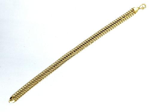"""Bracelet 18k yellow gold 7.5""""l"""