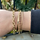 Thumbnail: 14k link bracelet