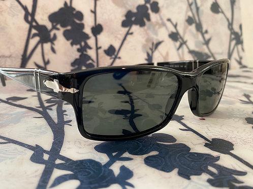 Persol 2803-s black polarized sunglasses