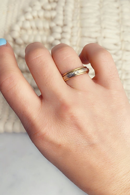 18k Fidget ring