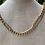 Thumbnail: Curb link diamond station necklace