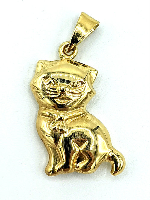 Kitty cat 🐈 charm 🐱 14k