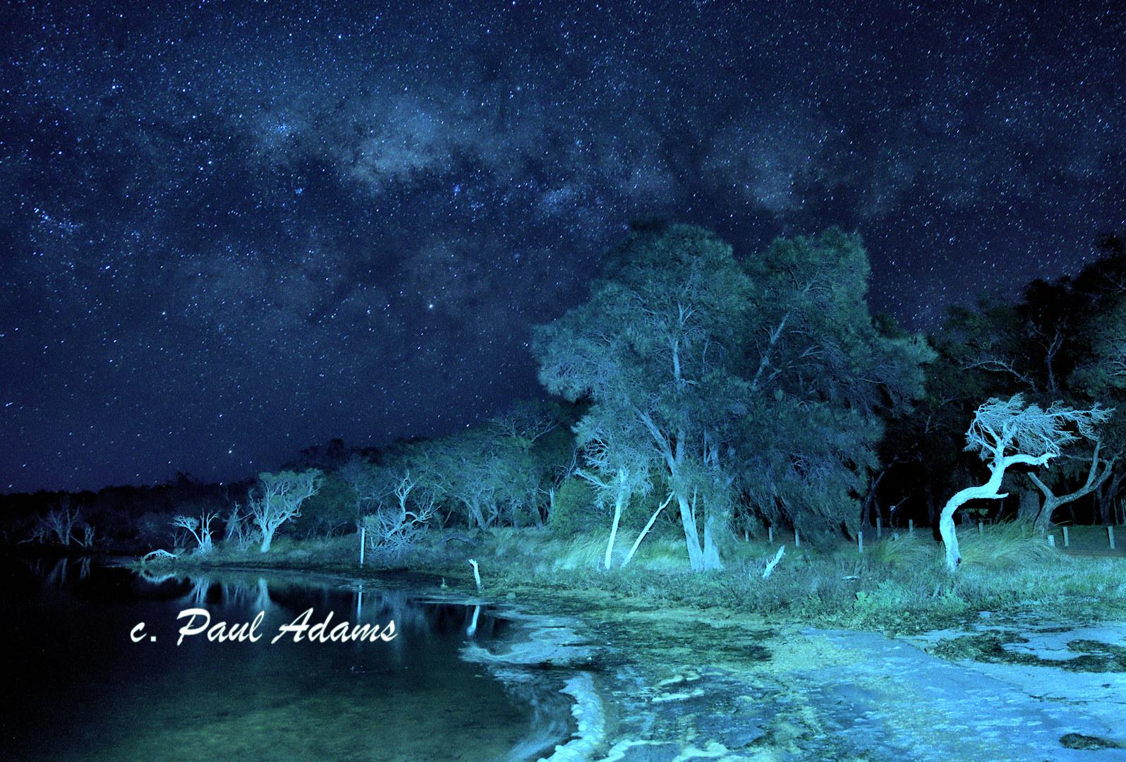Milky Way over Peel Inlet