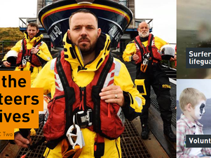 RNLI Saving Lives at Sea series 3 begins tonight BBC2 at 8pm