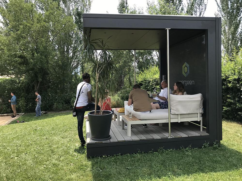Le Cubeen corporate, la solution pour créer un espace de travail innovant et autonome