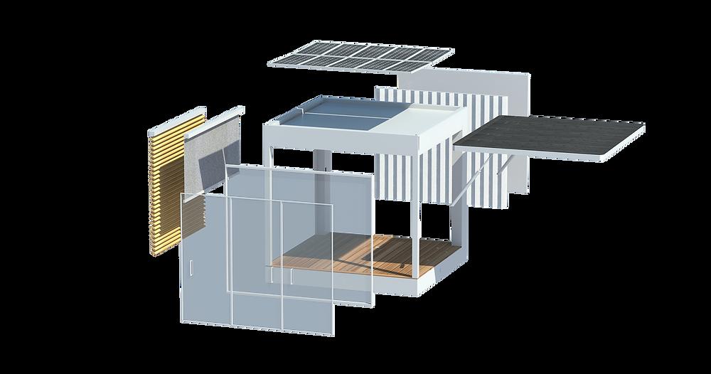 Le nouveau Cubeen C400 2020, solution de création d'espaces innovante et éco-responsable