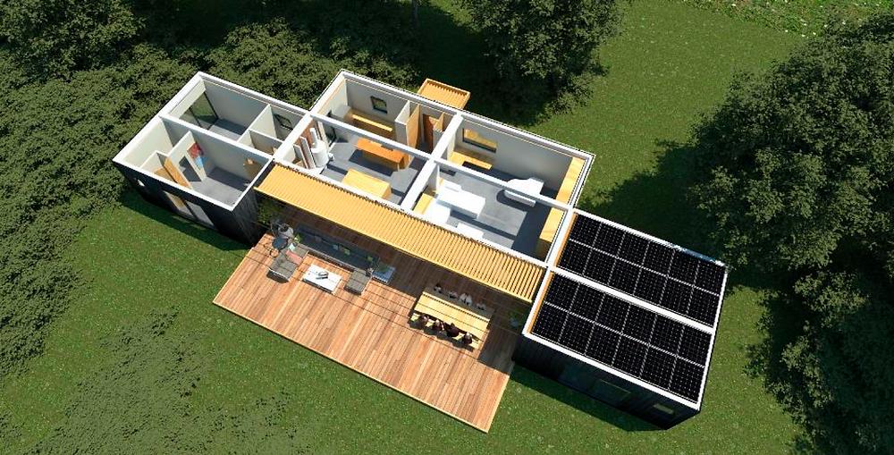 La villa modulaire Inergeen