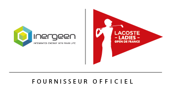 Logo Inergeen et Lacoste Ladies Open de France