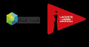 Logo Inergeen et Lacoste Ladies Open de France