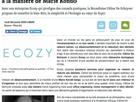 Article sur Ecozy