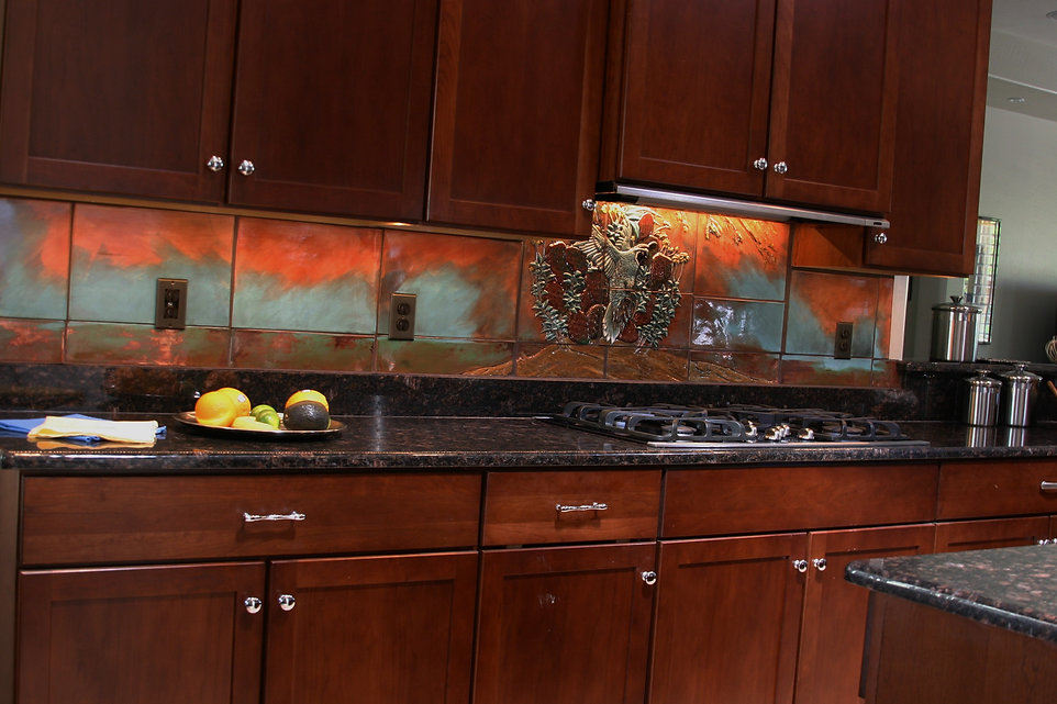 beamish kitchen copper luster accents  2
