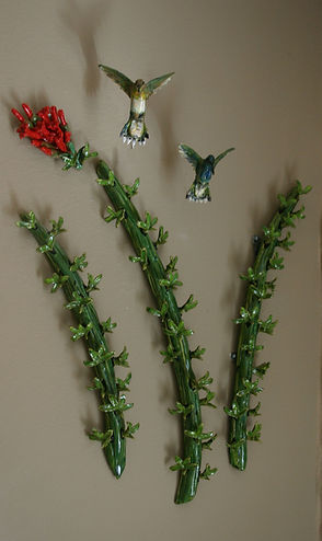 hummer ocotillo 3-d wall hangings beamis