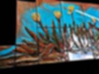 22020 Beamish Carving close up backsplas