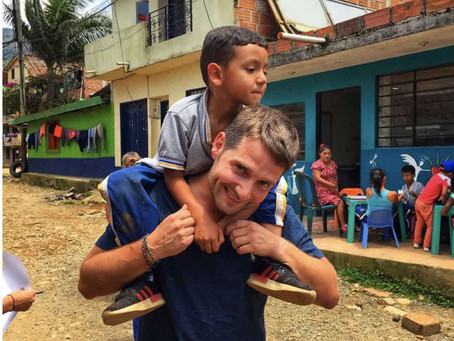 Volunteering at Angeles de Medellin, Colombia — The Children are Our Future
