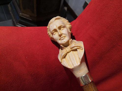 Bastone in legno compositore Schubert