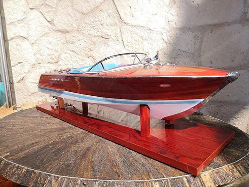 Barca modellismo Riva Tritone vintage in legno