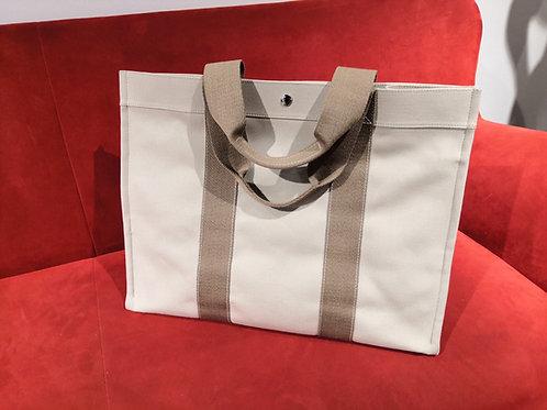 Hermès - Borsa Tote H canvas beige