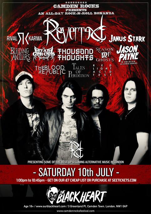 Live in London, July 2021