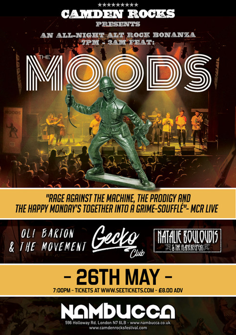 London, The Moods are coming!