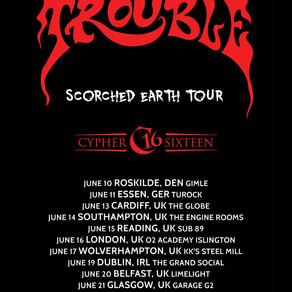 EU Tour with Trouble!