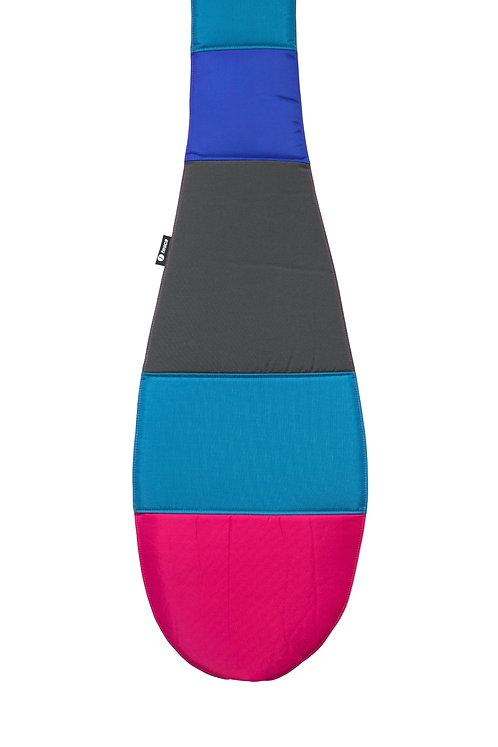 Housse pour pagaie de kayak patchwork géométrique