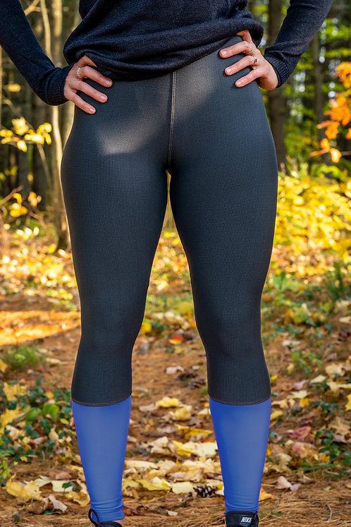 Le legging Endurance revers polaire bleu