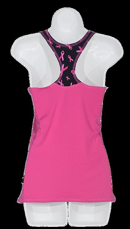 La camisole rose Ruban rose