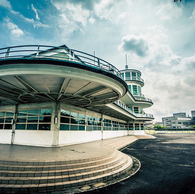 Art Deco style Kallang Airport