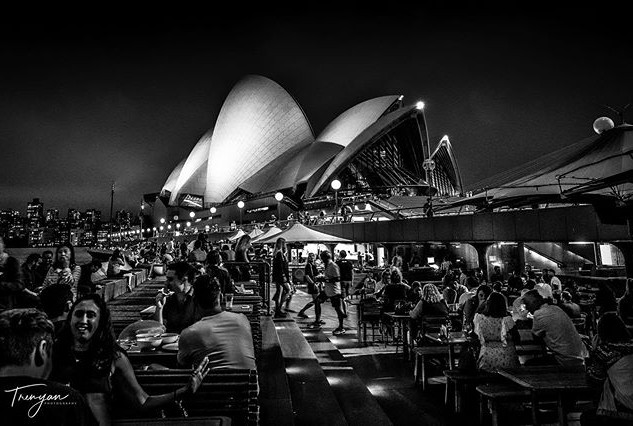 Nightlife at the Opera House