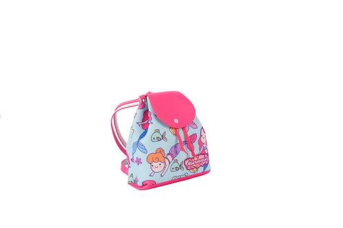 Mochila Sereia Glitter Menina Criança Infantil Princesa Pink