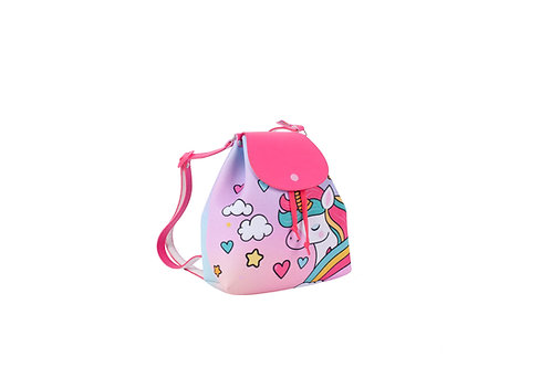 Mochila Unicórnio Glitter Princesa Menina Criança Infantil