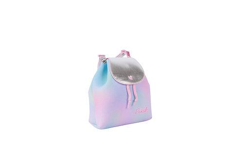 Mochila Tie Dye Glitter Menina Criança Infantil