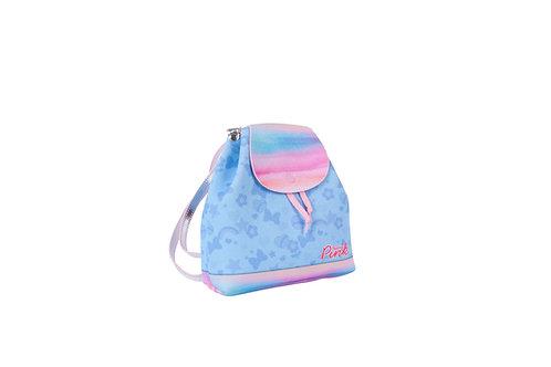 Mochila Tie Dye Glitter Menina Criança Princesa Pink